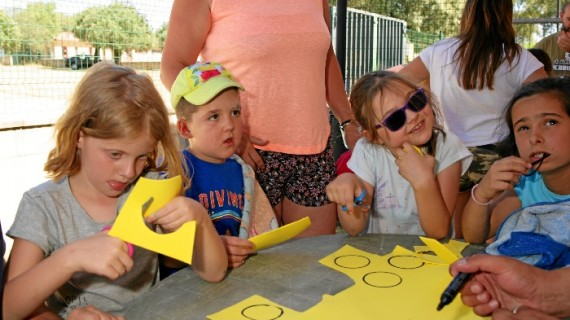 El 'arte en los fogones' llega a los campamentos inclusivos de verano de la Once en el Andévalo