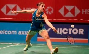 Carolina Marín avanza hasta los cuartos de final del Abierto de Malasia. / Foto: Badminton Photo.