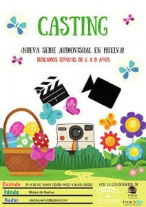 Cartel Casting Serie Audiovisual.