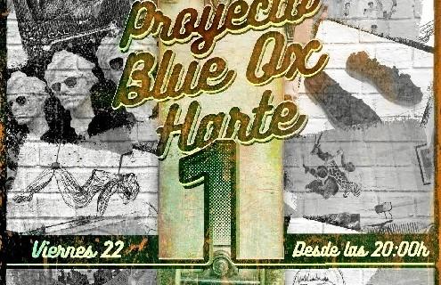 Blue Ox Huelva inaugura el proyecto 'Blue Ox Harte I', una iniciativa artística-solidaria en beneficio de la AECC