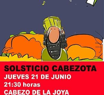 Huelva se moviliza por los cabezos el jueves 21 de junio con una concentración y la celebración del 'Solsticio Cabezota' en La Joya