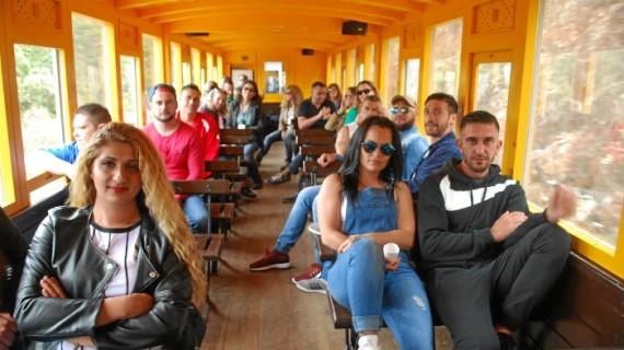 Alumnos del Ceper Miguel Hernández Gilabert, del Centro Penitenciario de Huelva, visitan Minas de Riotinto y Nerva