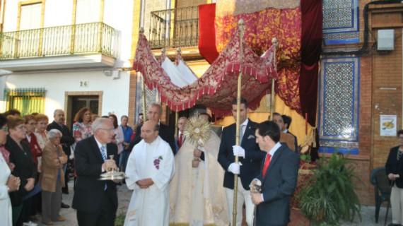 Zalamea la Real celebra el Corpus