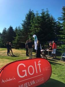 La imagen de Huelva se promociona en Dinamarca a través del golf.