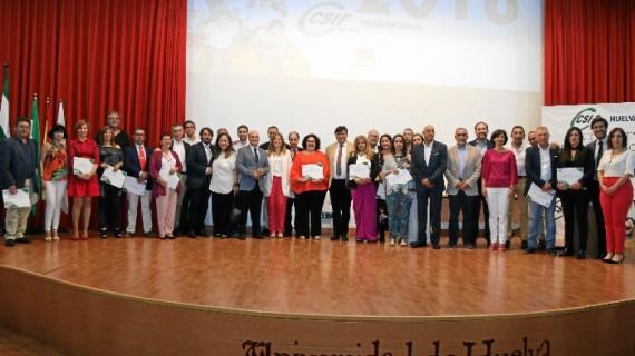 Entregados los III Premios al Empleado Público del Año en Huelva