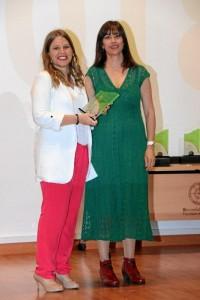 En el área de Servicios Sociales se alzaba con el premio María Paz Pérez Ordóñez.