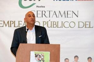 Intervención de Juan Manuel Quilón, presidente de CSIF en Huelva.