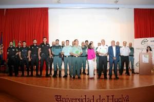 Mención especial a la Policía Nacional y Guardia Civil.