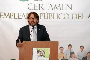 Manuel Pavón, gerente de la Universidad de Huelva.