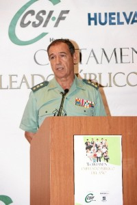 Palabras del Coronel Jefe de la Guardia Civil de Huelva, Ezequiel Martínez.