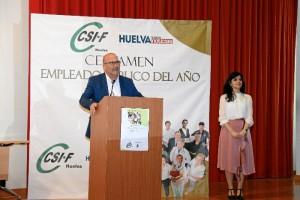 Intervención de José Luis Heredia, presidente de CSIF-Andalucía.