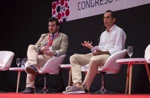 Intervención del deportista Emilio Martín.