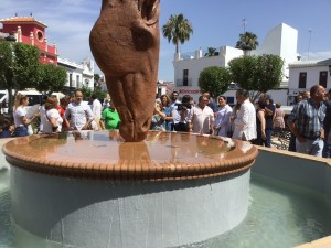 Escultura Saca de las Yeguas.