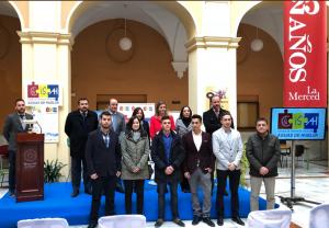 Foto de la entrega de los premios de la I Convocatoria. Curso académico 2016/2017.