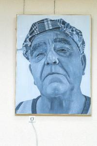 Ganador modalidad Facultades Bellas Artes - obra de Hector Lara