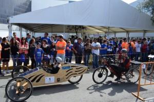 III Carrera de Vehículos Solares Eléctricos en la UHU