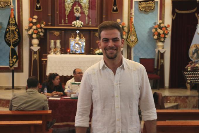 Kiko Marín, elegido hermano mayor de Emigrantes para la Romería 2019