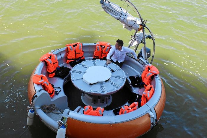 La Ría de Huelva cuenta con un nuevo atractivo turístico para navegar al tiempo que se disfruta de la gastronomía onubense