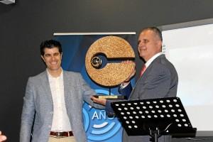 El centro iniciaba su programación especial este viernes, 22 de junio. En la fotografía, Manuel Cobos y Rafael Gil Piña.