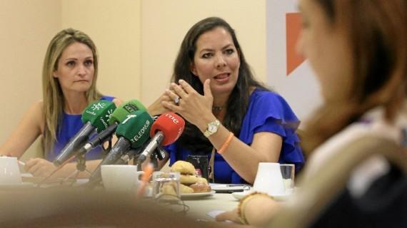 Desayuno informativo de Ciudadanos para realizar balance de sus tres años en el Ayuntamiento de Huelva