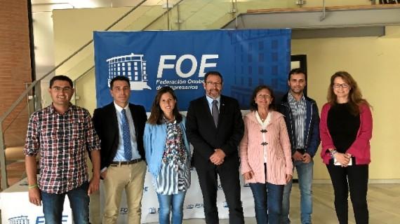 Alberto España, elegido presidente de la  Asociación de Empresas del Sector Ambiental de Huelva