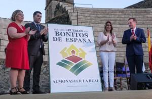 Almonaster la Real ya es oficialmente uno de los Pueblos más bonitos de España.