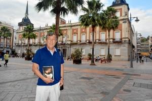 El autor Javier Ríos.
