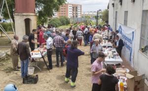 Celebración del  Encuentro Provincial de Hortelanos en el Parque Moret.