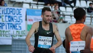 Sebas Martos hizo mínima para el Europeo en los 3.000 obstáculos. / Foto: Laura Cebrino.