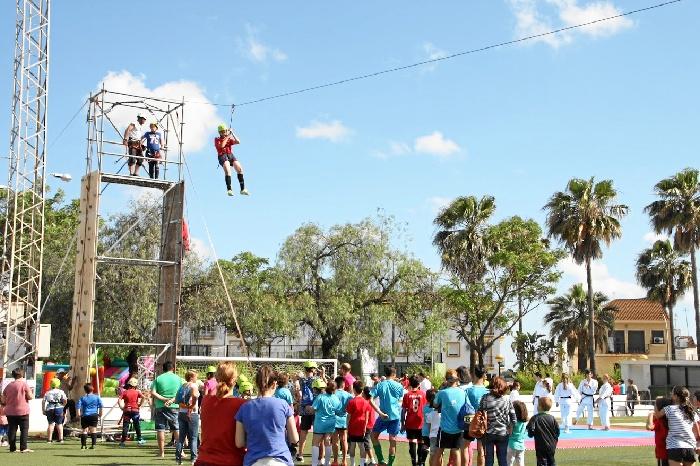 La AOCD celebra este viernes y sábado sus IX Miniolimpiadas en Gibraleón