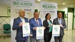 Presentación de la programación de la Semana de la Once en Huelva. / Foto: Jesús Bellerín
