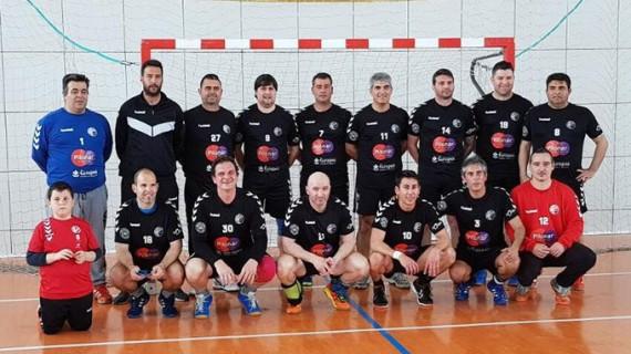 Equipos andaluces y portugueses se citan en el I Torneo Balonmano Veteranos de Moguer