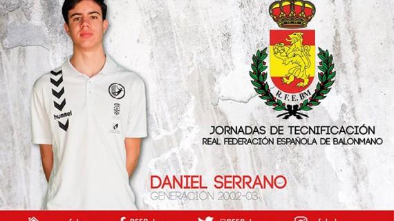 El moguereño Daniel Serrano, convocado para las Jornadas de Tecnificación de la Real Federación Española de Balonmano