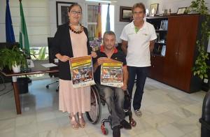 Las mejores parejas de pádel en silla de ruedas de todo el país se dan cita en Punta Umbría.