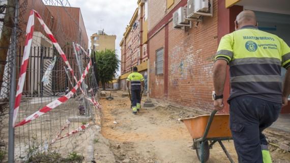 Acometen en mayo 103 obras de mantenimiento en Huelva capital