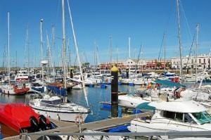 Puerto de Ayamonte.