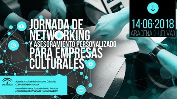 Aracena acoge una Jornada de networking y asesoramiento personalizado para empresas culturales