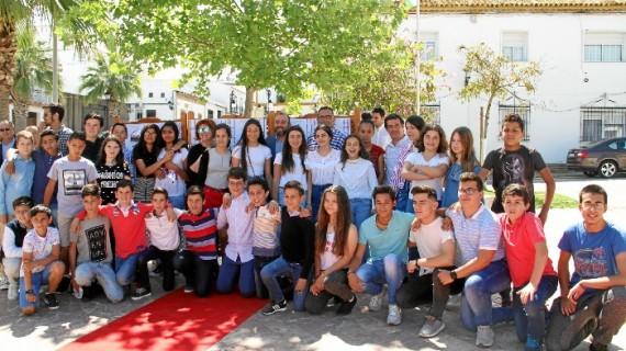 38 jóvenes del CEIP Miguel de Cervantes de Lucena del Puerto fomentan el respeto a la diversidad con un cortometraje