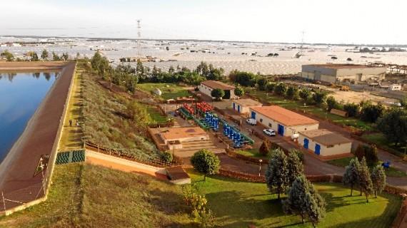 La distribución de agua potable, una de las señas de identidad de la Comunidad de Regantes Palos de la Frontera