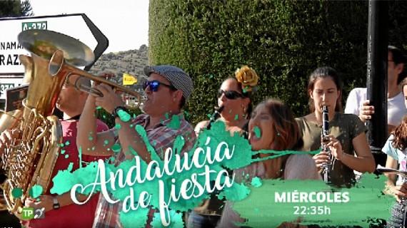 Punta del Moral, presente en el programa 'Andalucía de fiesta' de Canal Sur