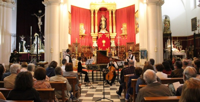 El ciclo 'Arquitectura y Música' llena de melodías La Concepción y la Mayor de San Pedro