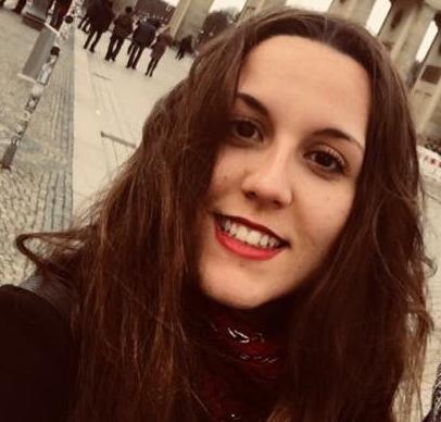 La onubense Inés Garrido, una futura filóloga inglesa que ha obtenido una beca para marcharse a trabajar un año a EEUU