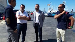 La Junta apoya el proyecto de las 'Rutas marineras'.