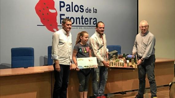 Victoria Pérez gana el concurso de maquetas de Aquafresi, el programa educativo de la Comunidad de Regantes de Palos