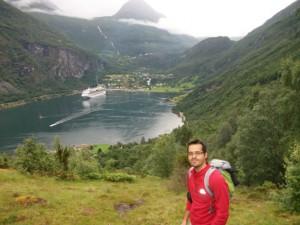 Miguel Suárez es un economista onubense, que se encuentra en Bélgica desde hace ocho años.