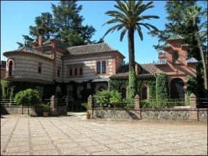 La Hacienda del Monte San Miguel sigue un lenguaje neomudéjar. / Foto: IAPH.