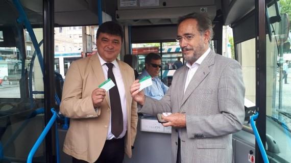 Usuarios de la tarjeta del Consorcio de Transporte podrán viajar a menor precio en autobuses urbanos de Huelva