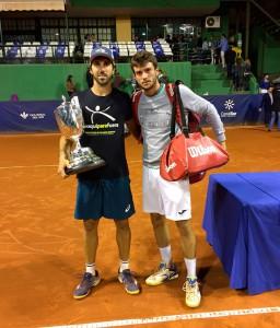 Los finalistas de la 93ª edición de la Copa del Rey de Tenis. / Foto: @rcrtenishuelva.