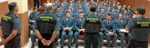 Imagen de los Guardias Civiles.