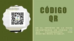 La aplicación incluye códigos QR.